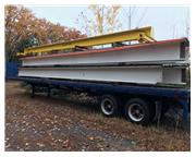 TWIN 5 TON TROLLIES 34' SPAN 135' RUNWAY NEW UNUSED