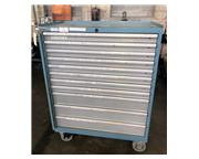 """LISTA TOOL CABINET 11-DRAWER, 38"""" draw width, overall 42"""" x 23&qu"""