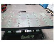 """2000 lb. Lexco #STN-3006-2F, 18"""" table lift height, hydraulic, roller ball table, cas"""